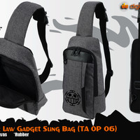 Trafalgar Law Gadget Sling Bag (Tas One Piece - TA OP 06)