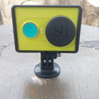 Plastic Lens Cap Cover tutup Pelindung Waterproof Case Lensa Xiaomi Yi
