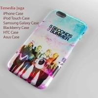 5 second of summer cute galaxy hart case iphone case dan semua hp