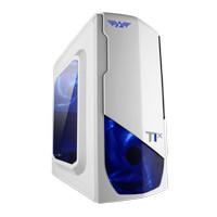 Armaggeddon Nanotron T1X (White) - MicroATX (Non PSU, Non ODD Slot)