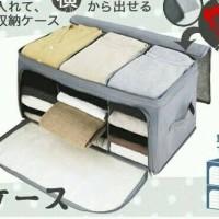 Foldable storage 2 way openable / Lemari Lipat 2 pintu / living box