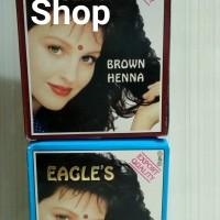 HENNA CAT RAMBUT EAGLES / SHACET