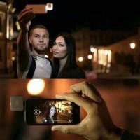 Jual Lampu LED Flashlight Flash Light Selfie Narsis Murah Surabaya Murah