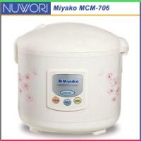 Magic Warmer Plus 6 IN 1 Miyako MCM-706 Rice Cooker Serba Guna 1.8L