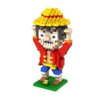 Loz Lego Nano Block One Piece Luffy