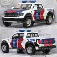 Diecast Ford F-150 SVT Raptor Patwal (Polisi Indonesia)