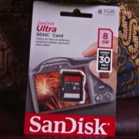 SD Card SanDisk Ultra 8 GB Class 10