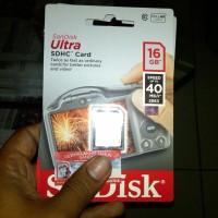 SD Card SanDisk Ultra 16 GB Class 10