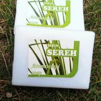 Handmade Homemade Soap Sabun Sereh VCO Natural