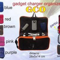 Travel Charger Organizer TCO Gadget Travelling Bag Tas Multifungsi