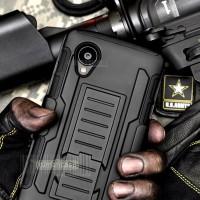 Jual LG Nexus 5 D820 - Future Armor Hardcase Belt Holster Ori Case Casing Murah