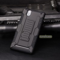 Sony Xperia T2 Ultra Future Armor Hardcase Belt Holster Case Casing