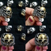 Cincin Hells Angels Club Skull Stainless Steel