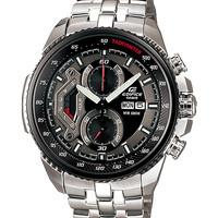 Jual jam tangan pria CASIO EDIFICE ORIGINAL BM MURAH STAINLESS silver black Murah