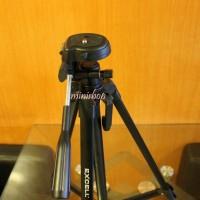 Tripod Excell Motto 2810 Untuk Kamera Canon Nikon Mirorrless Hitam