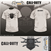 harga KAOS GAME CALL OF DUTY : ELITE - MERK ORIGINAL GAMERDISTRO BANDUNG - BKN KASET PC GAMES DVD PS3 XBOX Tokopedia.com