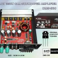 harga 12v / 350watt Car Subwoofer Power Amplifier Dms-330 Tokopedia.com