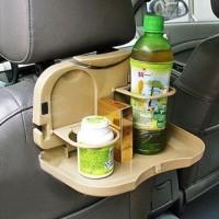 Meja portable mobil di jok belakang mobil Travel dining tray - HHM023