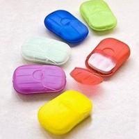 Sabun Kertas Praktis / Travel Paper Soap untuk Travelling HBH004