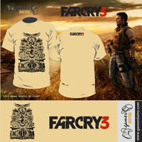 harga KAOS GAME FAR CRY 3 - MERK ORIGINAL GAMERDISTRO BANDUNG - BKN KASET PC GAMES DVD PS3 XBOX Tokopedia.com