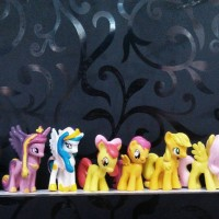 harga Patung / Miniatur My Little Pony isi 12 Tokopedia.com