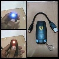 Korek Elektrik Ferrari USB Cigarette Lighter - Black