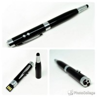 harga Stylus Multifunction 7 In 1 (pen,laser Pointer,light,flashdisk) Tokopedia.com