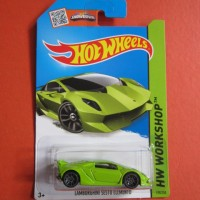 Hot Wheels LAMBORGHINI SESTO ELEMENTO hijau