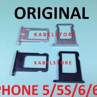 Sim Tray iphone 5 5s / 6 6+ plus Tempat Kartu Sim Card Apple Original