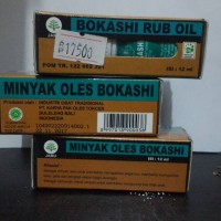 minyak oles bokashi rub oil