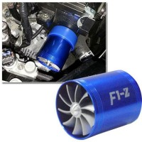 F1-Z Double Fan, Intake Fan Supercharger turbin turbo, Fuel saver, Mor
