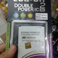 Baterai Log On Mito Fantasy 2 A75 Dobel Power 3900Mah