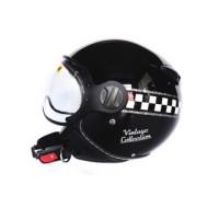 harga Helm Zeus 210 Retro - Vintage Black Tokopedia.com