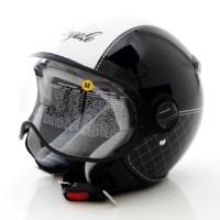 harga Helm Zeus 210 Retro - Royale Black Tokopedia.com