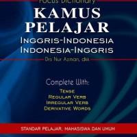 Kamus Pelajar Inggris-Indonesia Indonesia-Inggris oleh Drs. Nur Azman