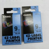 Jual EZ-Label Printer Casio 9mm Black Ink Blue Murah