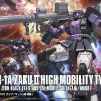 HBJ2964 HG High Mobility Type Zaku II 3 Black Star