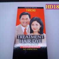 HD189 - Toning Rambut Hitam Alami Tanpa Ammonia Merk Tancho 40 ml