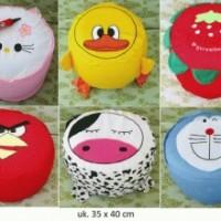 Sofa / Kursi Tiup / Pompa / Balon / Angin / Udara Anak Karakter Unyu