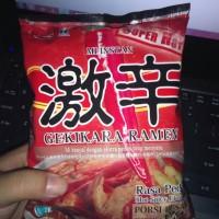 Gekikara Ramen Mie Instan Hot