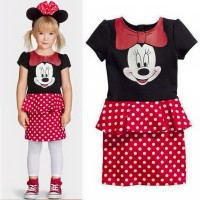Dress HM Minnie rok polkadot