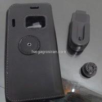 Sarung / Case Pinggang Kulit Communicator Nokia E90