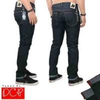 harga Celana Jeans Skinny   Macbeth Rolled Up Jeans Red Stitching   Premium Tokopedia.com