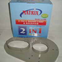 LNB C Band 2 in 6 (V/H) Matrix (2 Satelit 6 Receiver) With Multiswitch