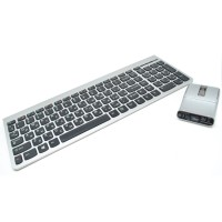 Lenovo Keyboard Mouse Wireless Bluetooth Ultraslim Plus Rusia Layout