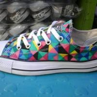 Murah sepatu converse low motif + box
