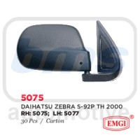 Spion Emgi Daihatsu Zebra 2000 S92 Hitam Manual LH