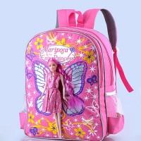 harga Tas Sekolah Ransel Anak Perempuan Paud Garsel Karakter Boneka Barbie Tokopedia.com