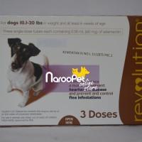 Revolution 60mg Brown Selamectin for Dogs 10,1-20lbs
