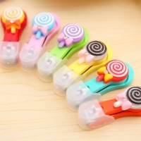 Gunting Kuku Lollypop Lucu Dengan Tutup Nail Clip KHM013